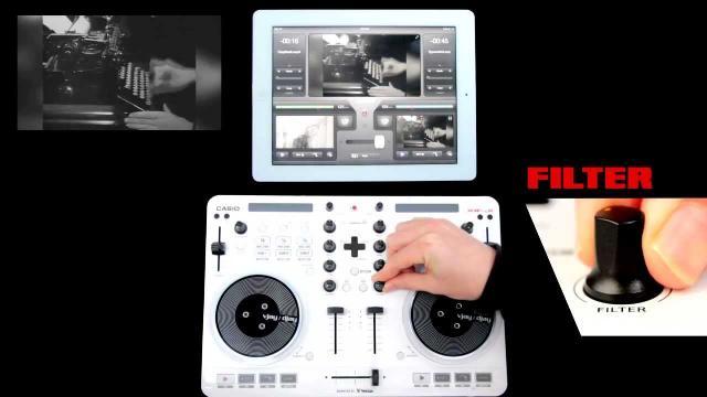 CASIO XW-J High Mobility VJ/DJ Controller