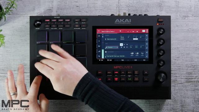 MPC Live II | Making our Beat