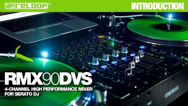 Reloop RMX-90 DVS DJ Club Mixer - 4-Channel High Performance Mixer for Serato DJ (Introduction)