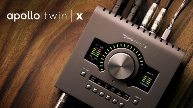Introducing the New Apollo Twin X Thunderbolt 3 Audio Interface