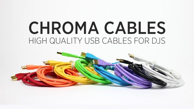 Chroma Cables: High Quality USB Cables for DJs