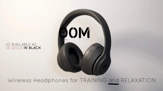 BOOM by MIIEGO® - WIRELESS HEADPHONES FOR TRAINING AND RELAXATION.