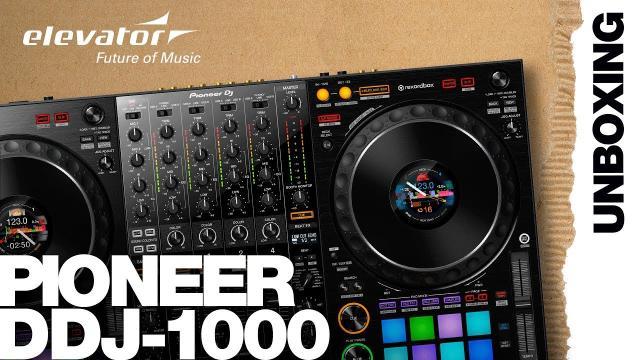 Pioneer DDJ-1000 - DJ-Controller - Unboxing (Elevator deutsch)