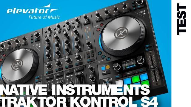 Native Instruments Traktor Kontrol S4 MK3 - DJ Controller - Test