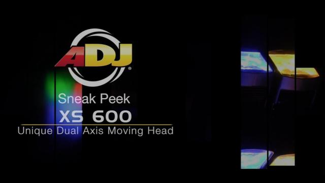 ADJ XS 600 Moving Head Sneak Peek