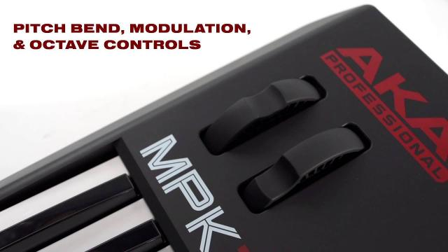 The All-New Akai Professional MPK261 Keyboard & Pad Controller