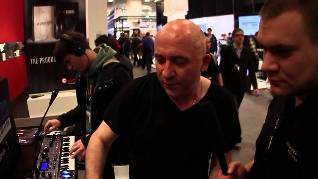 Elevator Vlog - Musikmesse 2013 - Novation Bass Station 2