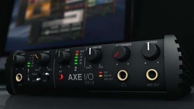 AXE I/O SOLO - Best-in-class guitar recording starts here