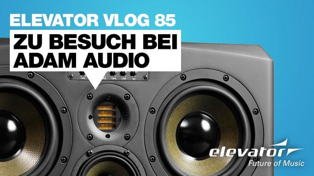 Adam Audio Berlin - Elevator Vlog 85 (deutsch)
