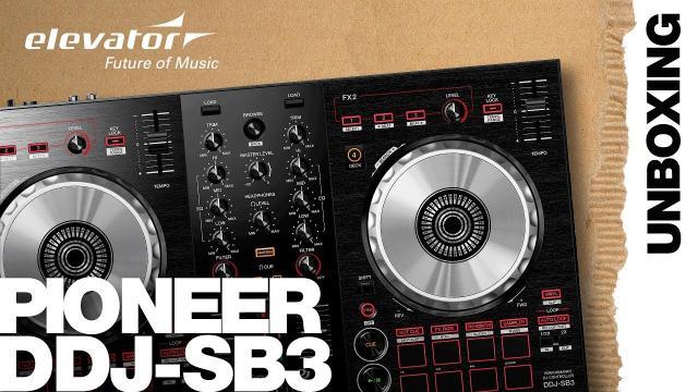 Pioneer DDJ-SB3 - Serato DJ Controller - Unboxing (Elevator deutsch)