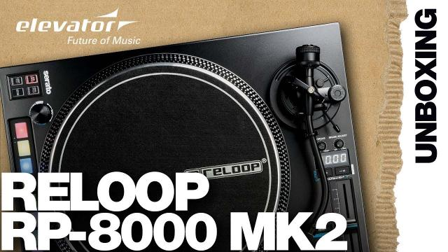 Reloop RP-8000 MK2 - DJ Turntable - Unboxing