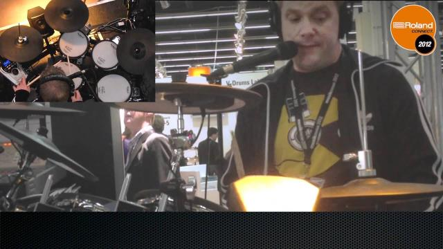 TD-15KV V-Drums V-Tour series: Musikmesse 2012 Booth Demo performed by Craig Blundell