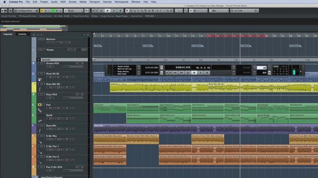Transport and Recording Workflow | New Features in Cubase Pro 8.5