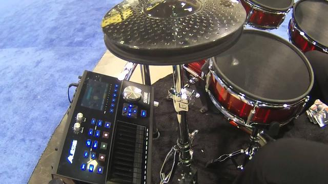 NAMM 2016 Alesis Strike Zone Kit Electronic Drum Set