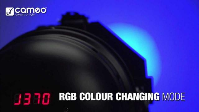 Cameo Light PAR 64 CAN - 18 x 3 W TRI Colour LED PAR 64 Can RGB