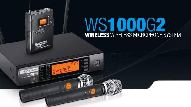 LD Systems - WS1000G2 wireless Microphone