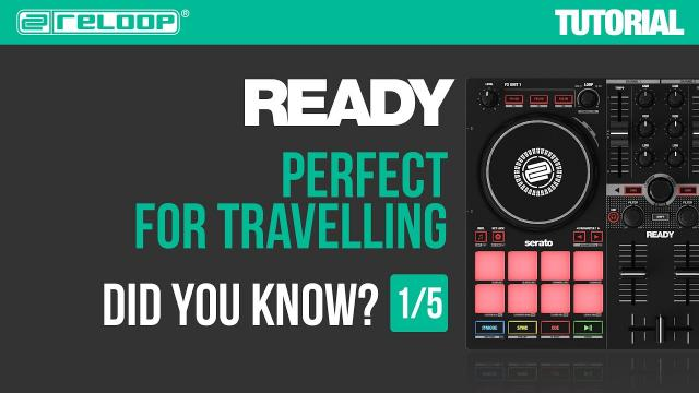 Reloop Ready - Portable Controller for Serato - Perfect for travelling. Did you Know? (Tutorial 1/5)