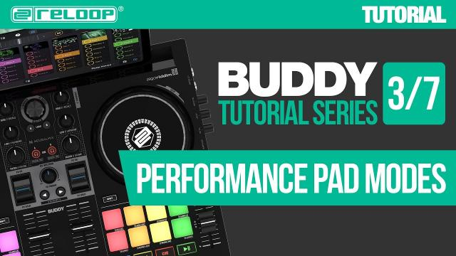 Performing with Pad Modes on Reloop Buddy - a compact controller for djay (Tutorial 3/7)
