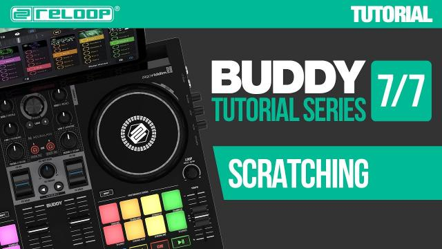 Learn simple scratches with Reloop Buddy - a compact controller for djay (Tutorial 7/7)