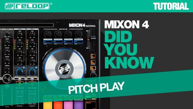 Reloop Mixon 4 DJ Controller - Play Your Cue Points Melodically  - Did You Know? (Tutorial)