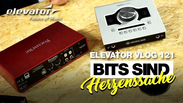Bits sind Herzenssache - Audio Interface & Soundkarte - Grundwissen (Elevator Vlog 121 deutsch)