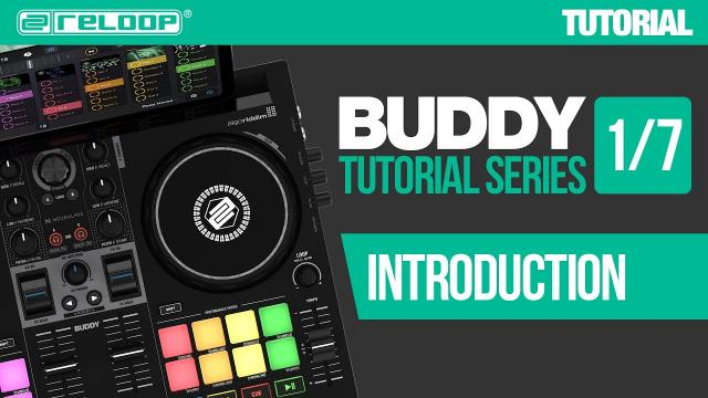 Getting started with Reloop Buddy – a compact controller for djay (Tutorial 1/7)