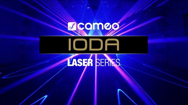 Cameo IODA - Professional Show Laser Series