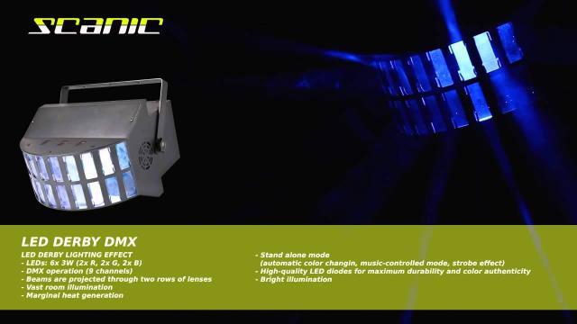 Scanic LED Derby DMX