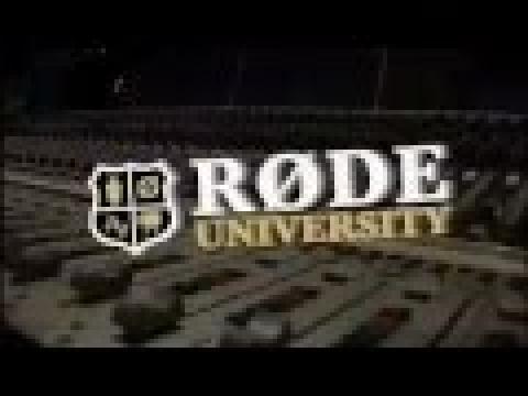 RØDE University - Recording Guitars with the RØDE NT5