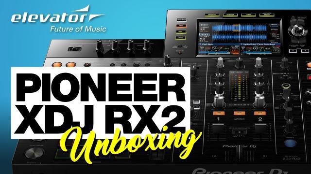 Pioneer XDJ RX2 - DJ-Controller - Unboxing (Elevator deutsch)