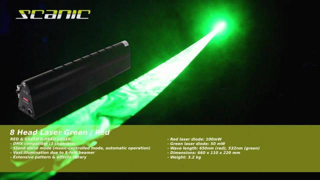 Scanic 8 Head Laser G/R