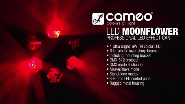 Cameo Light - Professional LED Effect with 9 W TRI LED