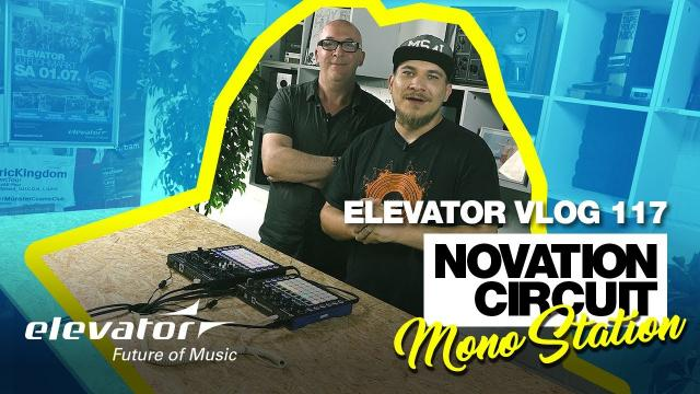 Novation Circuit Mono Station - Monosynth - Test (Elevator Vlog 117 deutsch)