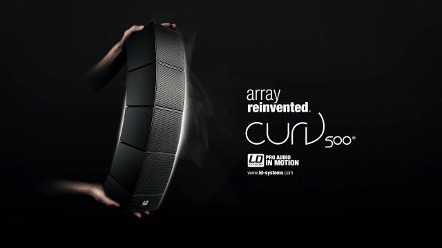 LD Systems CURV 500® - Release Teaser