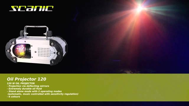 Scanic Oil Projector 120