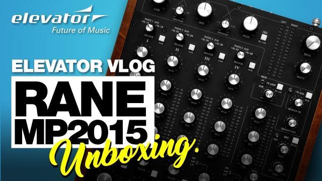 Rane MP2015 - Rotary Mixer - Unboxing (Elevator deutsch)