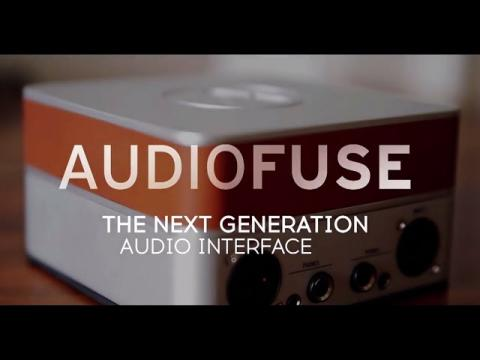 Arturia presents AudioFuse, the next generation Interface.