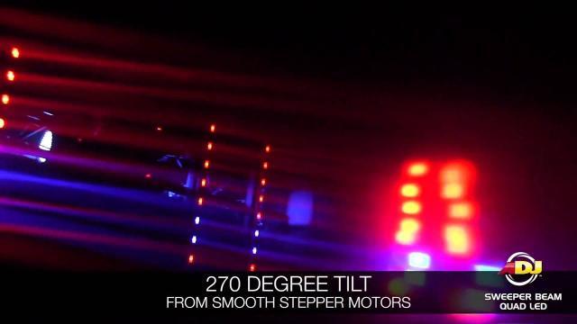 ADJ Sweeper Beam Quad LED