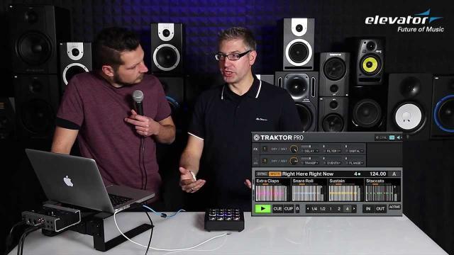 Elevator Vlog - Folge 36: DJ TechTools Midi Fighter 3D mit Traktor Pro Remix Decks