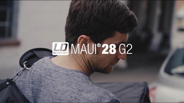LD Systems MAUI 28 G2 meets Chasing Kurt
