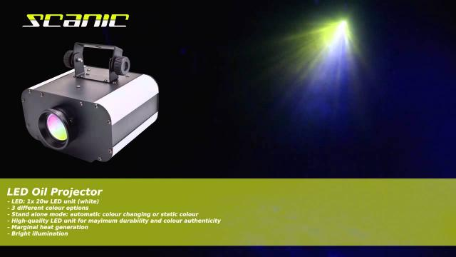 Scanic LED Oil Projector