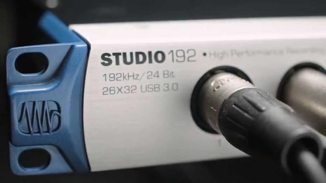PreSonus Studio 192 — 26 x 32 USB 3.0 Audio Interface and Studio Command Center