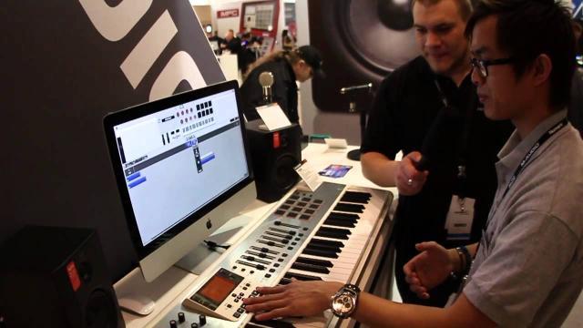 Elevator Vlog - Musikmesse 2013 - M-Audio Axiom Air