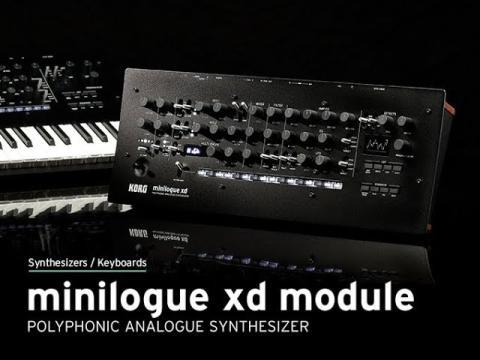 KORG minilogue xd Module: Your Desktop, Evolved.
