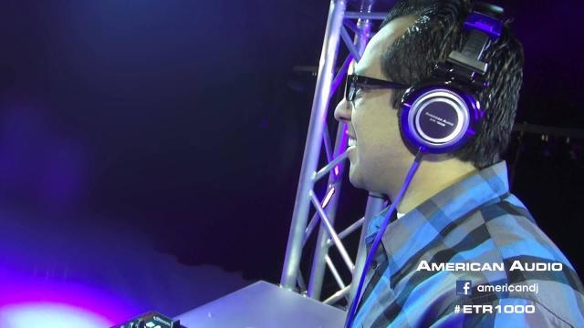 American Audio ETR 1000  Pro DJ Headphones (Full HD)