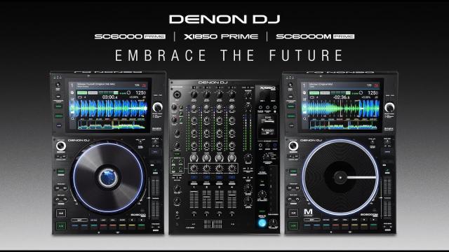 Introducing Denon DJ SC6000 + SC6000M Media Players