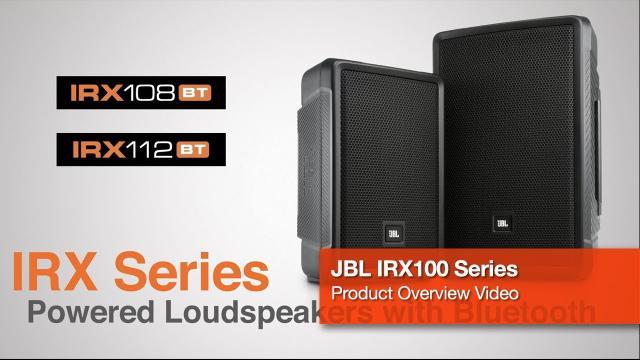 JBL IRX Series Powered Loudspeakers with Bluetooth