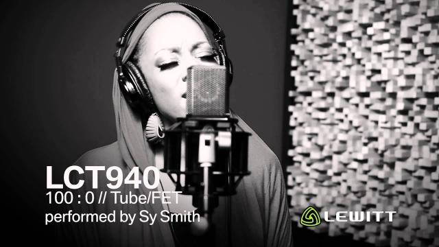 Sy Smith vocal demo with the LEWITT LCT 940 Tube