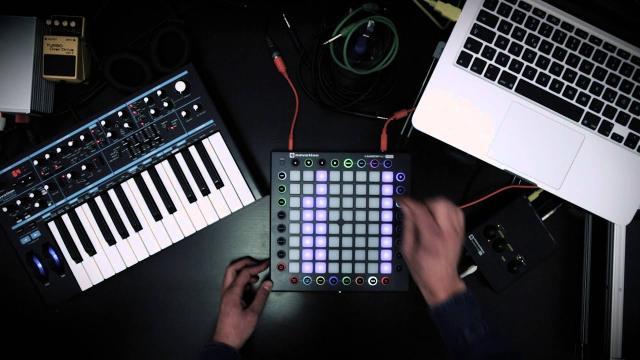 Novation // Launchpad Pro Techno-Jam by Alexander Franz