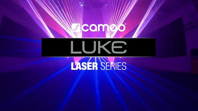Cameo LUKE - Professional Show Laser Series